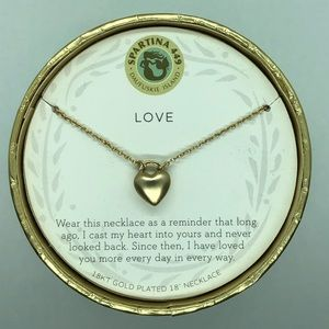 "SLV ""Love"" Heart Necklace"